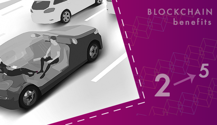 Back to the Blockchain Future with Autonomous Cars Level 5