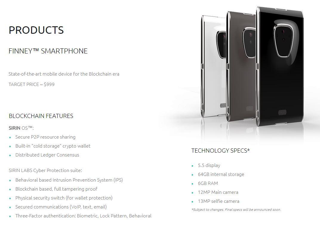 Finney Blockchain Phone