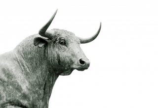 BITCOIN statue_bull_animal_horn_sculpture-108731