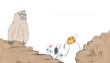 Cartoon Corner - The Bear's Got Issues