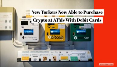 New Yorkers Can Now Buy Bitcoin at ATMs With Debit Cards
