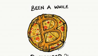 bitcoin pizza cartoon bitcoinnews