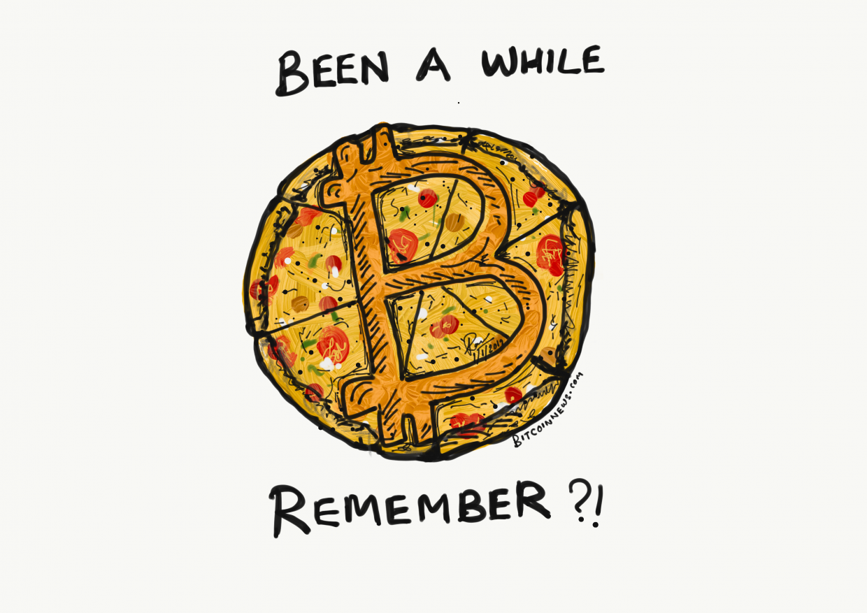 bitcoin pizza cartoon bitcoinnews