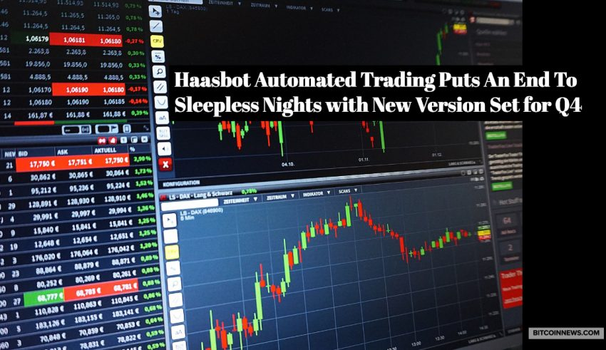 HaasBot Automated Trading Puts an End to Sleepless Nights with New Version Set for Q4