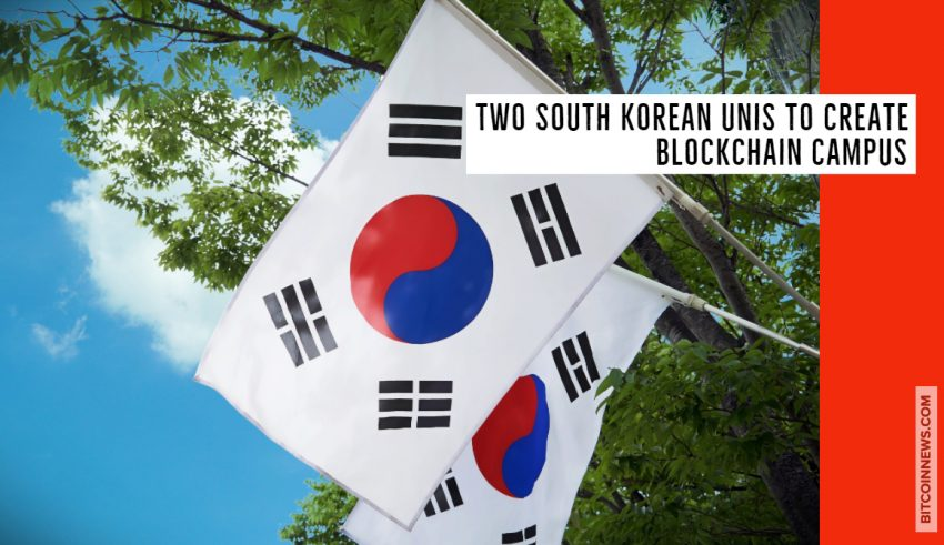 Two South Korean Unis to Create Blockchain Campus