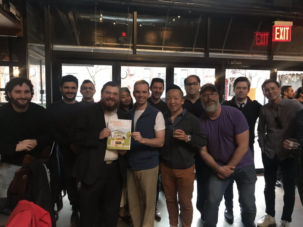 Bitcoiners meet at the NYC book launch