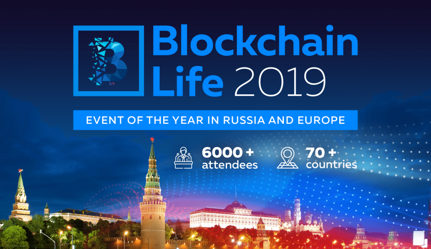 PR: Blockchain Life 2019 to Be Held in Moscow on October 16-17th